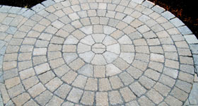 patio circular design